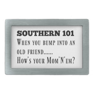 Southern101-1 Rectangular Belt Buckle