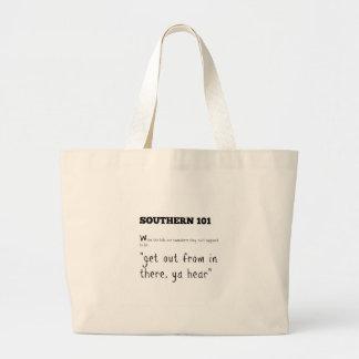southern101-2 large tote bag