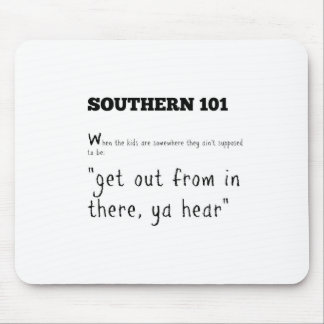 southern101-2 mouse pad