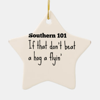 southern101-3 ceramic ornament