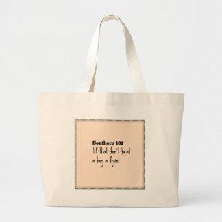 southern101-3 large tote bag