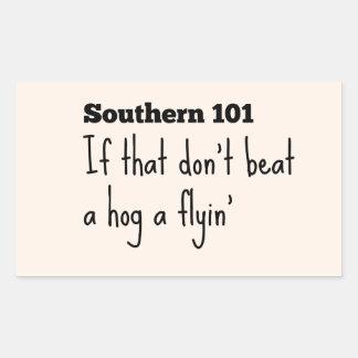 southern101-3 rectangular sticker