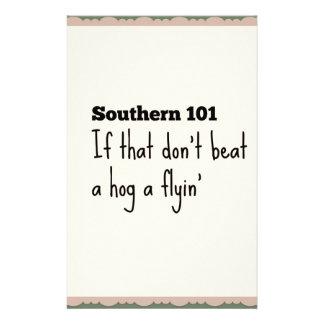 southern101-3 stationery