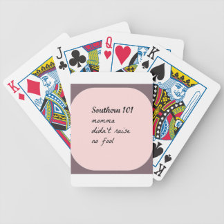 southern101-4 bicycle playing cards