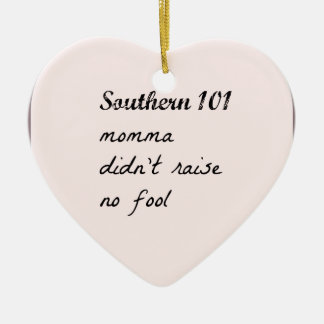 southern101-4 ceramic ornament
