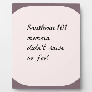 southern101-4 plaque