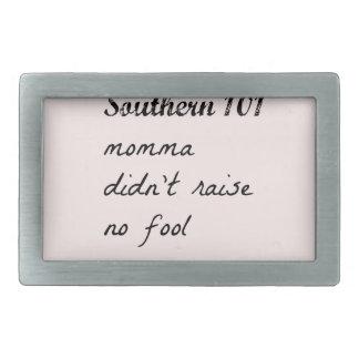 southern101-4 rectangular belt buckles