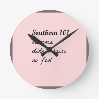 southern101-4 round clock