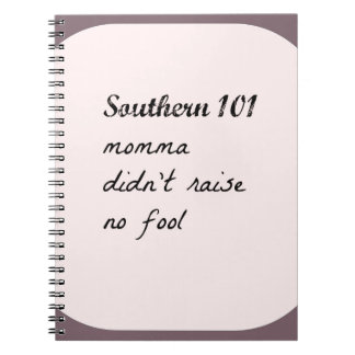 southern101-4 spiral notebook
