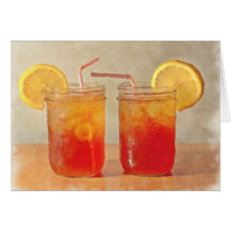 Southern Anniversary  Sweet Tea for Two Card
