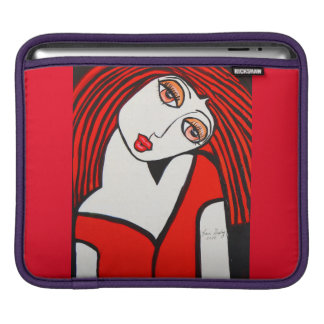 SOUTHERN BELL  RUBY iPad SLEEVES