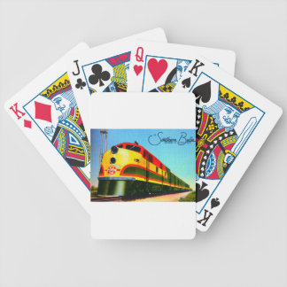 Southern Belle Train Bicycle Playing Cards