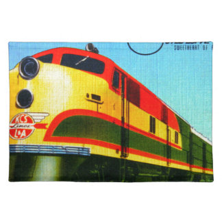 Southern Belle Train Placemat