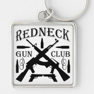 Southern Boy Girl Redneck Gun Club Key Ring