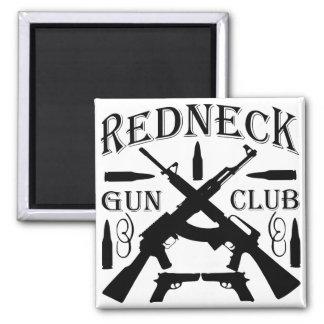 Southern Boy Girl Redneck Gun Club Magnet