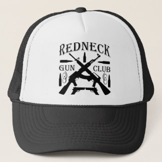 Southern Boy Girl Redneck Gun Club Trucker Hat