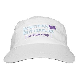 Southern Butterflies Woven Hat, Color Logo Hat