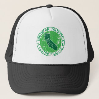 southern california certified baller trucker hat