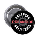 Southern California - Oceanside Button