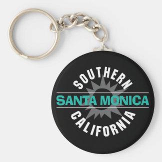 Southern California - Santa Monica Key Ring