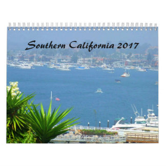 Southern California SOCAL 2017 Calendar