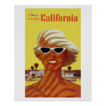Southern California (Vintage Ads) Affiche