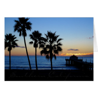 Southern Californian Pier Card