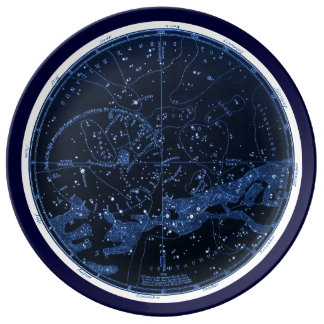 Southern Constellations Plate