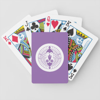 Southern crane bicycle playing cards