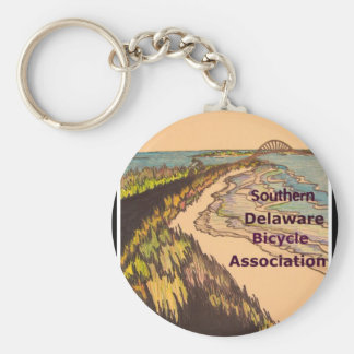 Southern Delaware Bicycle Association logo Key Ring