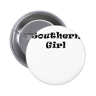 Southern Girl 6 Cm Round Badge