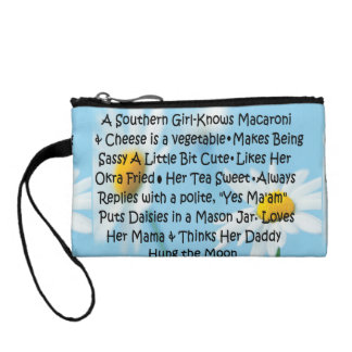 Southern Girl Coin Wallet