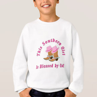 Southern Girl Blessed By God Sweatshirt