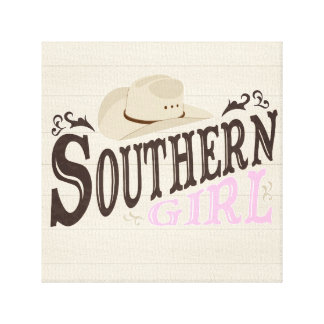 Southern Girl Canvas Prints