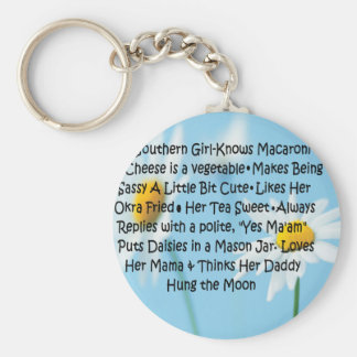 Southern Girl Keychains