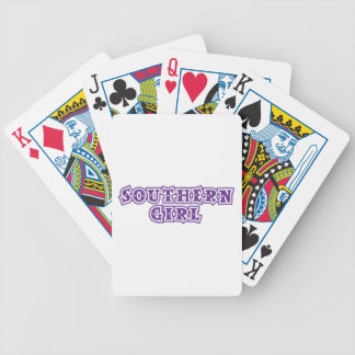 southern girl star purple deck of cards