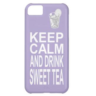 Southern Girl Sweet Tea Keep Calm Parody iPhone 5C Case