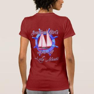 Southern Girls Are A Little Nauti T-Shirt