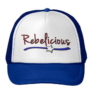 Southern Girls are Rebelicious Mesh Hats