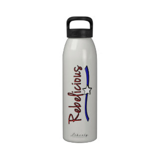 Southern  Girls are  Rebelicious Drinking Bottle