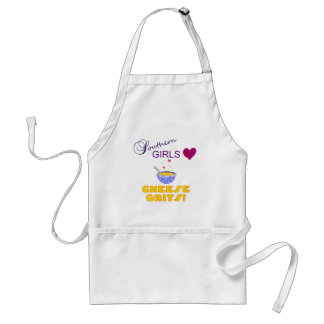 Southern Girls Love Cheese Grits Adult Apron