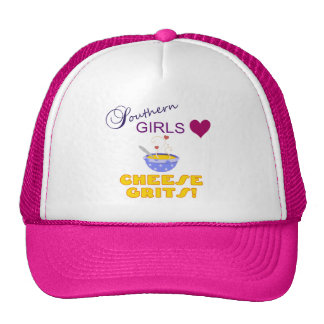 Southern Girls Love Cheese Grits Trucker Hats
