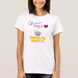 Southern Girls Love Cheese Grits T-Shirt