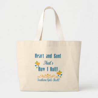 Southern Girls Rock Canvas Bag