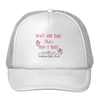 Southern Girls Rock Mesh Hats