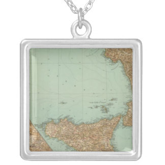 Southern Italy 2729 Silver Plated Necklace
