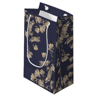 Southern Magnolias & Midnight Blue Small Gift Bag