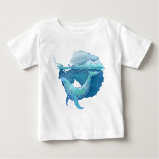 Southern Ocean Whale Sanctuary Baby T-Shirt