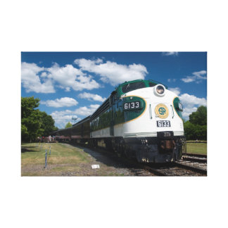 Southern Railway Streamliner Canvas Print