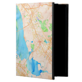 Southern San Francisco Bay Watercolor Map Powis iPad Air 2 Case